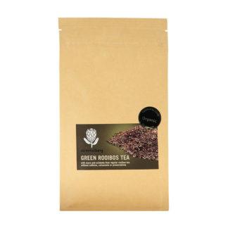 Skimmelberg Bio grüner Rooibos Tee - blatter -100 gram - Reißverschluß