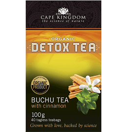 Cape Kingdom Detox Tea Buchu Zimt 40 Beutel