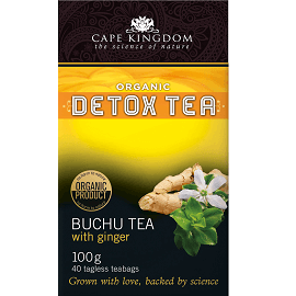 Cape Kingdom Detox Tea Ingwer 40 Beutel