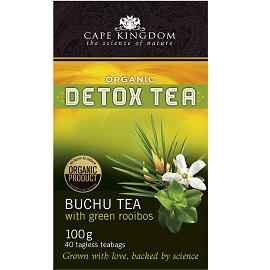 Cape Kingdom Detox Tea Buchu grüner Rooibos 40