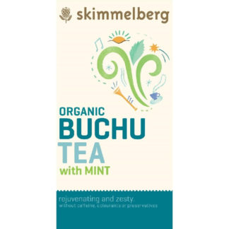Skimmelberg Buchu mit Minze - Bio-Tee 20 Beutel
