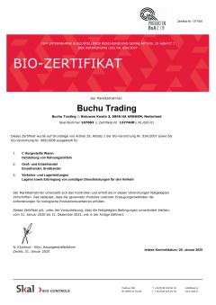 Bio-Zertifikat Deutsch